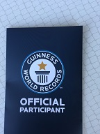 Guinness World Record Certificate Cover