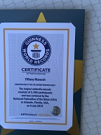 Guinness World Record Certificate of Participation